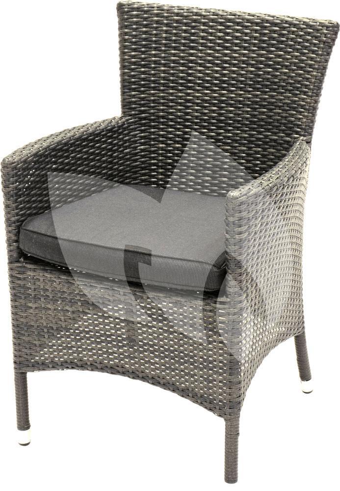 Express wicker tuinstoel promo grijs loungeset for Tuinstoel grijs