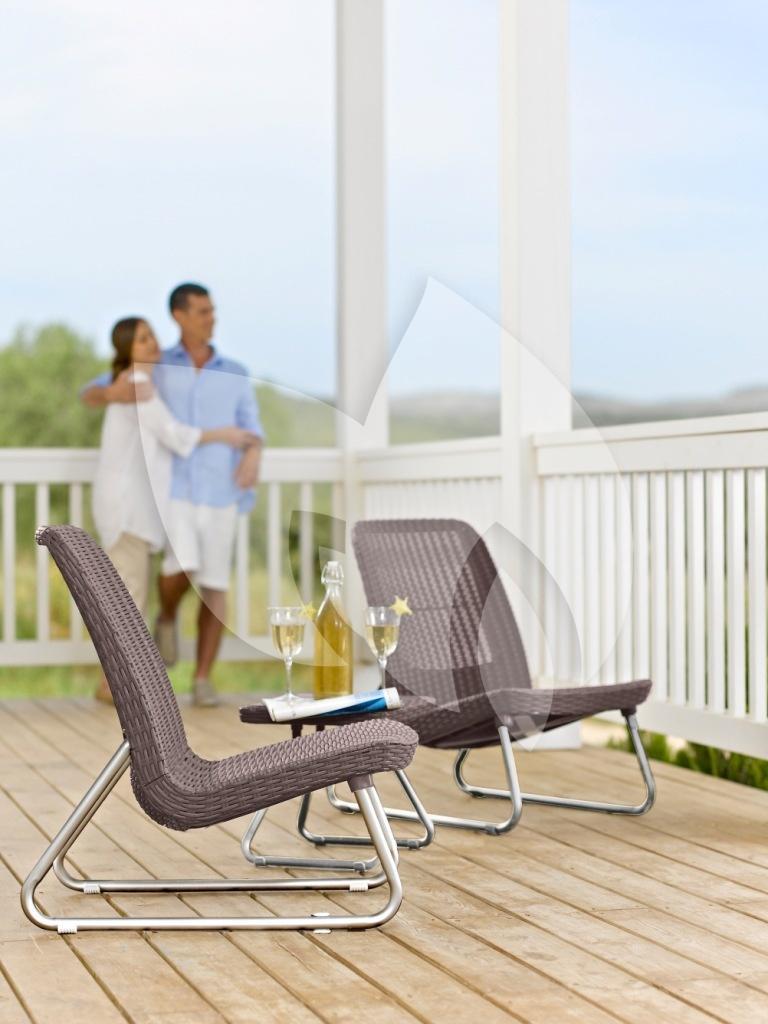 keter rio balkon loungeset cappuccino loungeset. Black Bedroom Furniture Sets. Home Design Ideas