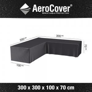 AeroCover loungesethoes L-vorm 300x300x100x70 cm