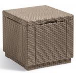 Cube multifunctionele bijzettafel cappuccino