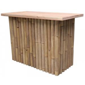 Bamboe bartafel naturel