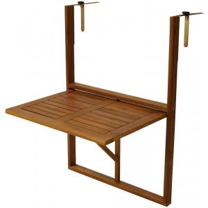 Balkontafel inklapbaar 45 x 64 cm hout