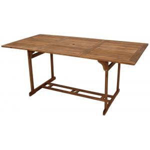 Houten tuintafel acacia hout 180 x 90 cm