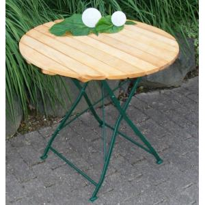 Tuintafel hout opklapbaar Bad Tolz groen 77cm