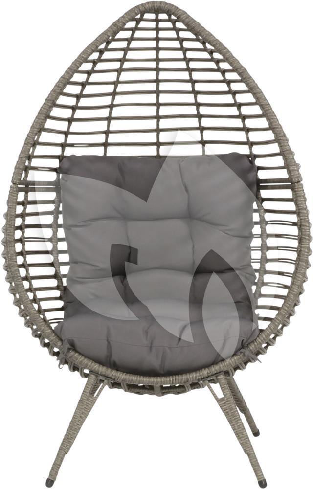 Express chill egg stoel grijs loungeset for Chill stoel