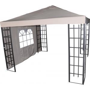 Zijwand met venster voor Paviljoen Royal Ecru