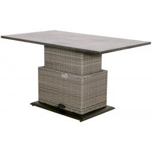 Dagaanbieding - Soho Coal verstelbare lounge tuintafel dagelijkse koopjes