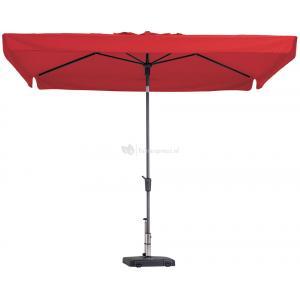 Dagaanbieding - Madison parasol Delos Luxe rechthoek 300x200 cm rood dagelijkse koopjes