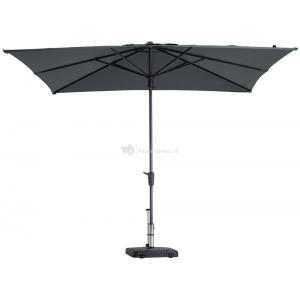 Dagaanbieding - Madison parasol Syros Luxe vierkant 280 cm grijs dagelijkse koopjes