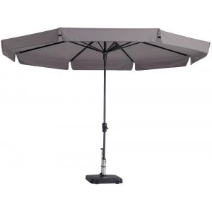 Madison parasol Syros rond 350 cm taupe