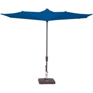 Dagaanbieding - Madison parasol Viceversa rond 300 cm turquoise dagelijkse koopjes
