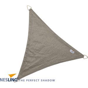 Dreamsail waterafstotend schaduwdoek grijs driehoek