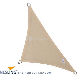 Coolfit schaduwdoek driehoek 90 graden gebroken wit