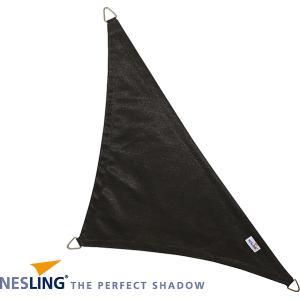 Coolfit schaduwdoek driehoek 90 graden zwart