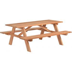 Hardhouten picknicktafel Comfort