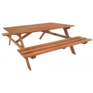 Hardhouten picknicktafel Economy
