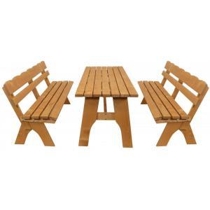 Freital 3-delig picnickset 200cm