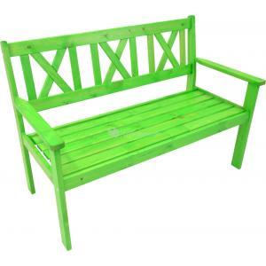 Luton 2-persoons tuinbank groen